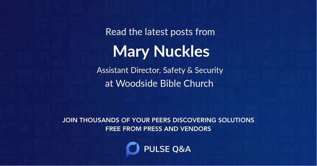 Mary Nuckles