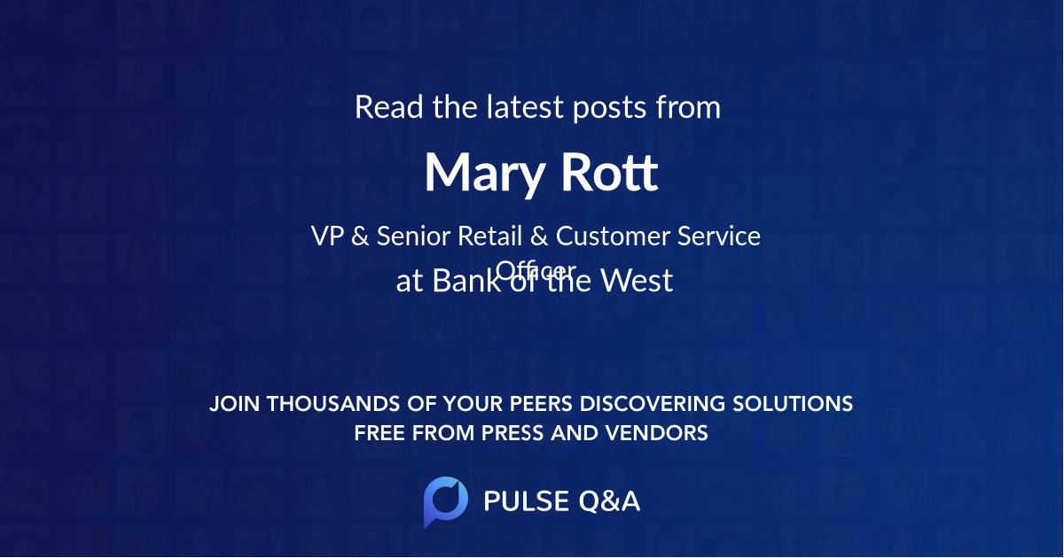 Mary Rott