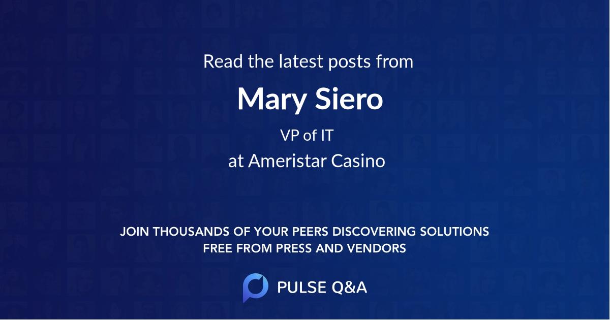 Mary Siero