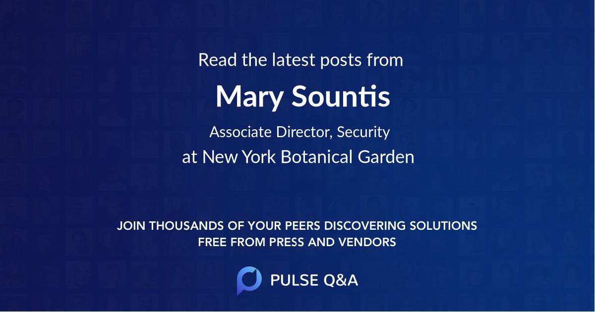 Mary Sountis