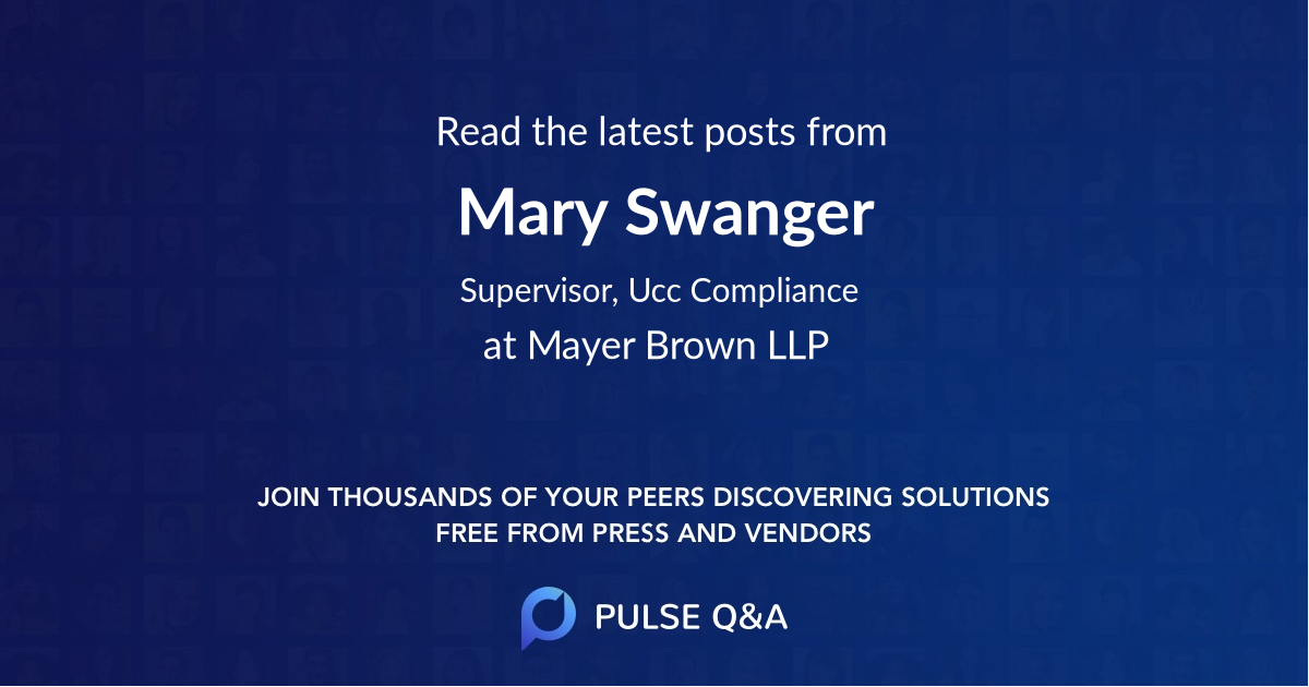 Mary Swanger