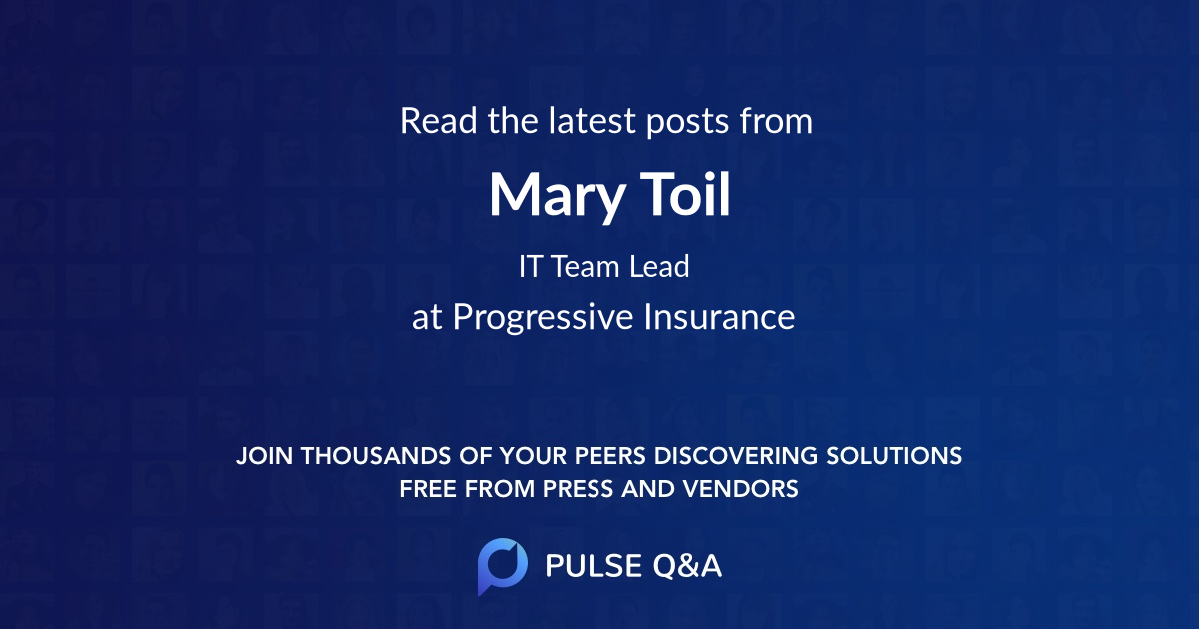 Mary Toil