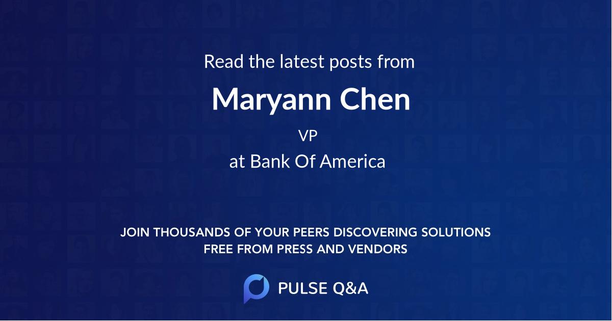 Maryann Chen