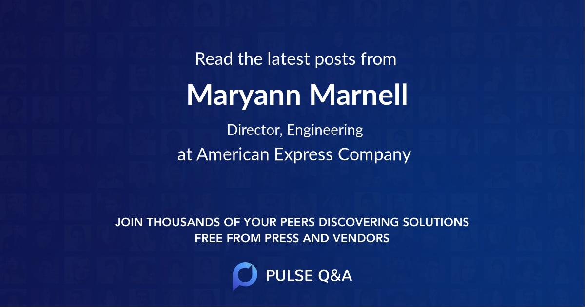 Maryann Marnell
