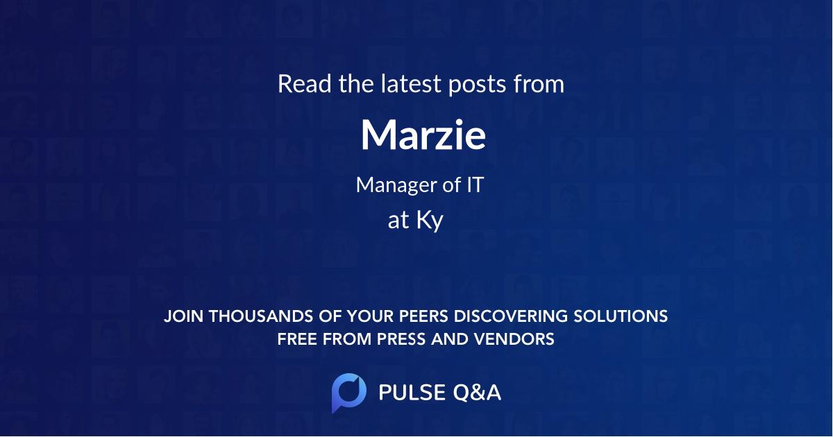 Marzie