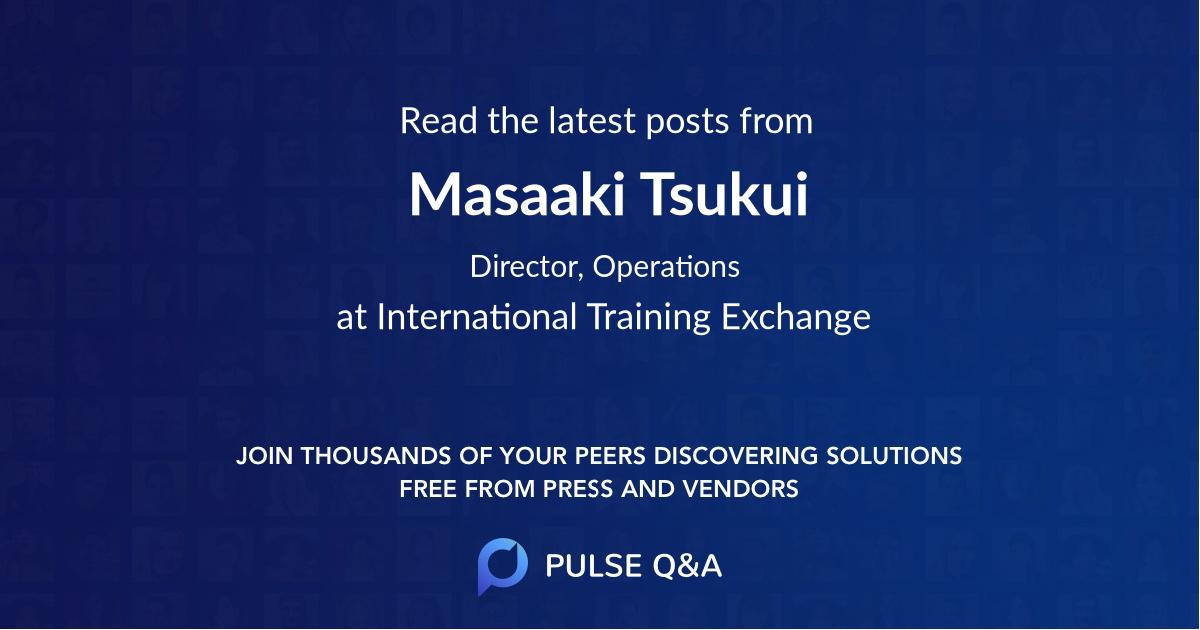 Masaaki Tsukui