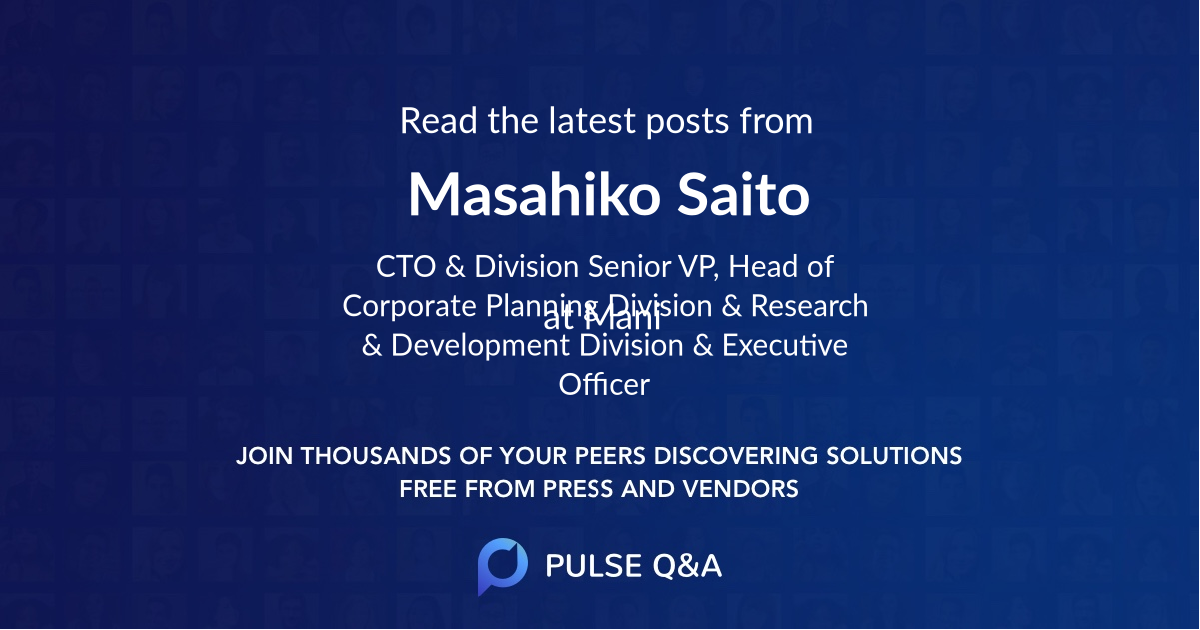 Masahiko Saito