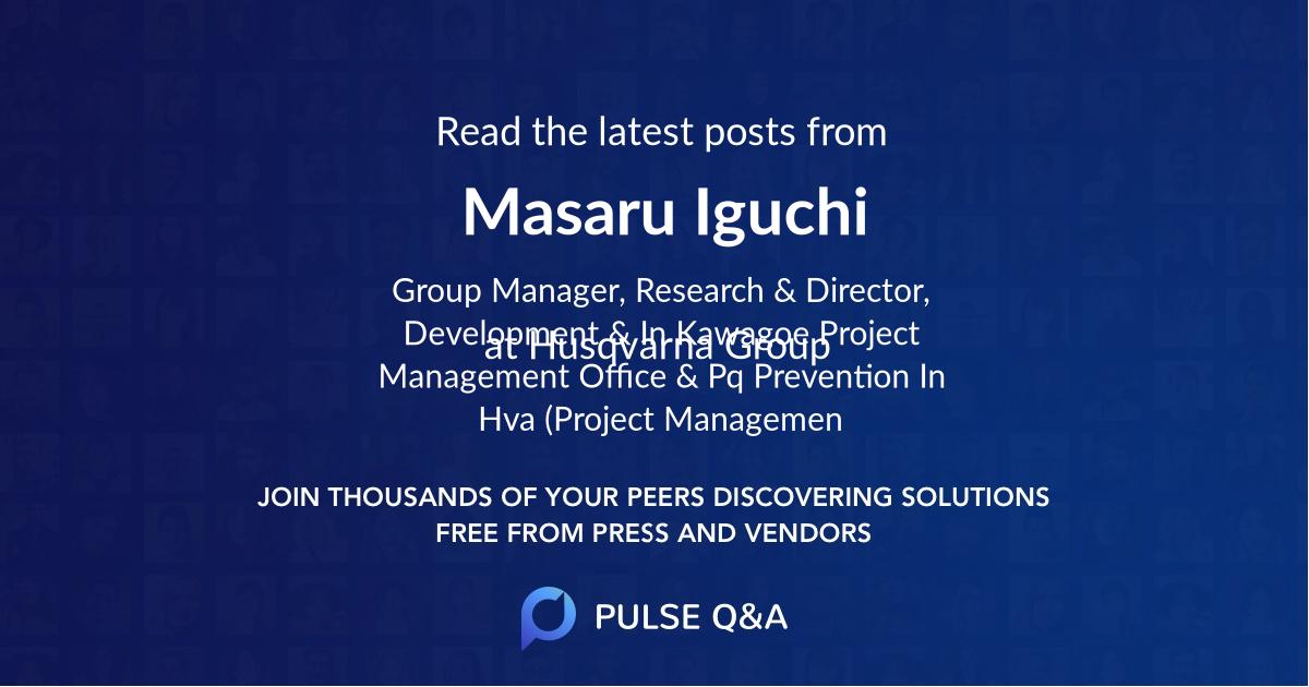 Masaru Iguchi