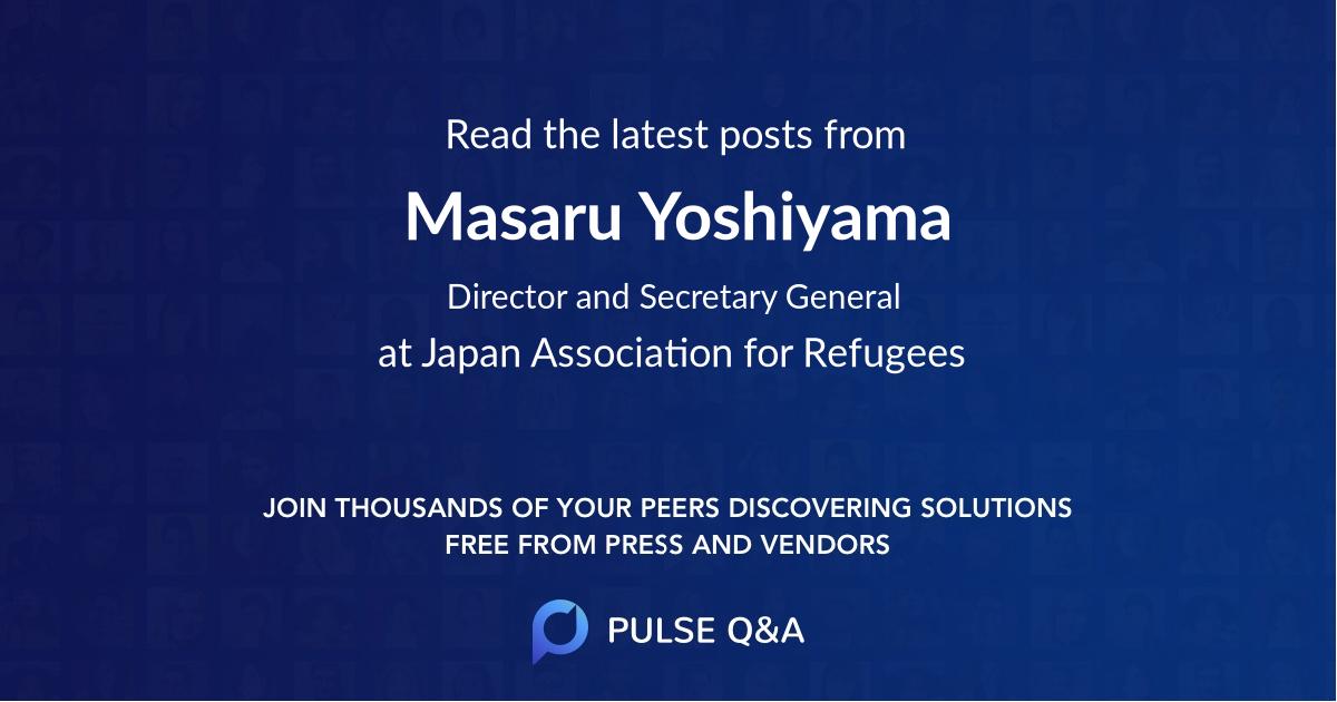 Masaru Yoshiyama