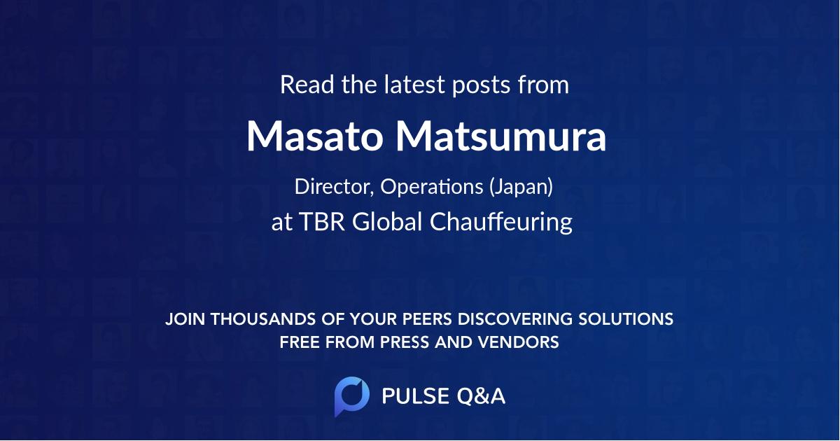 Masato Matsumura