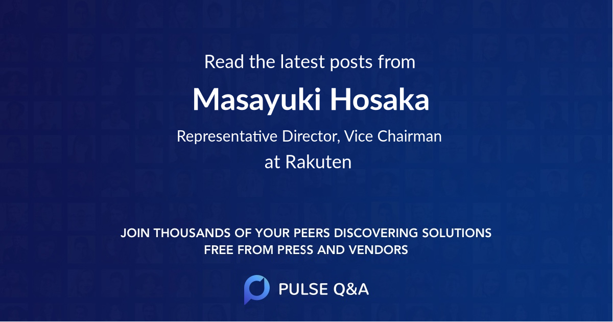 Masayuki Hosaka
