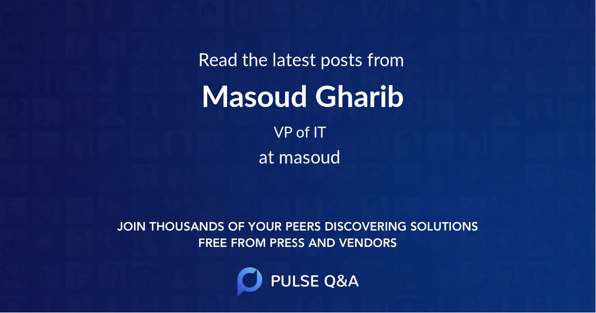 Masoud Gharib