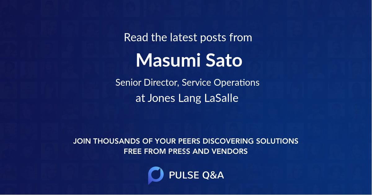 Masumi Sato