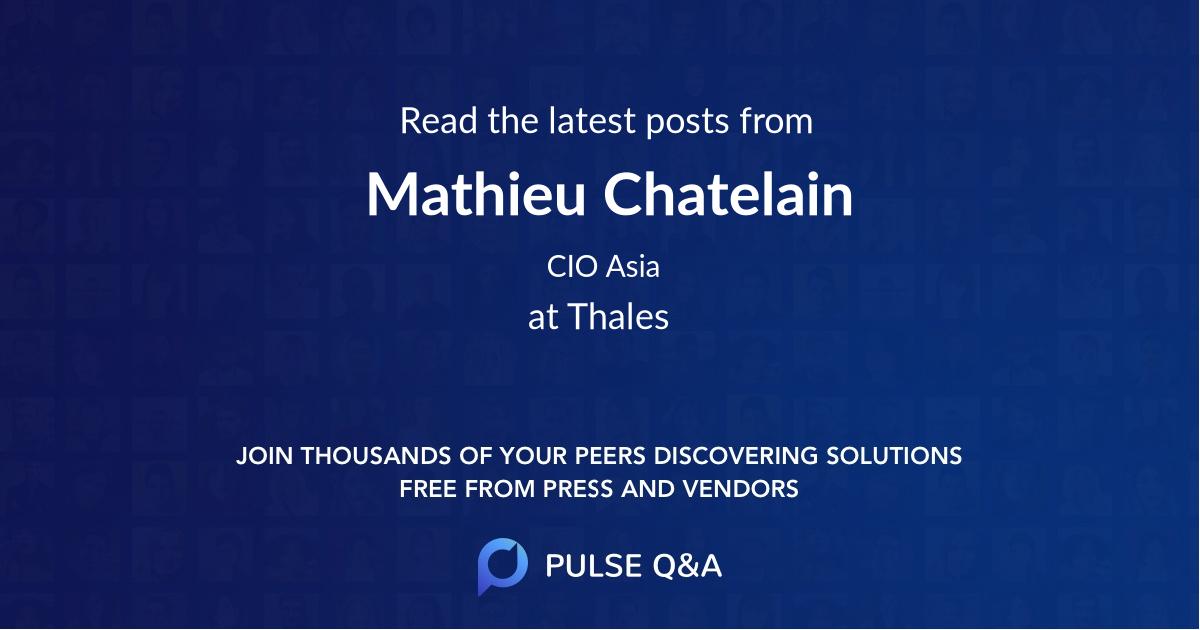Mathieu Chatelain