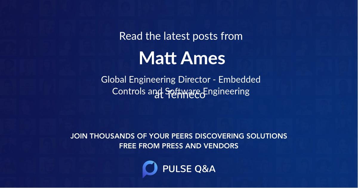 Matt Ames