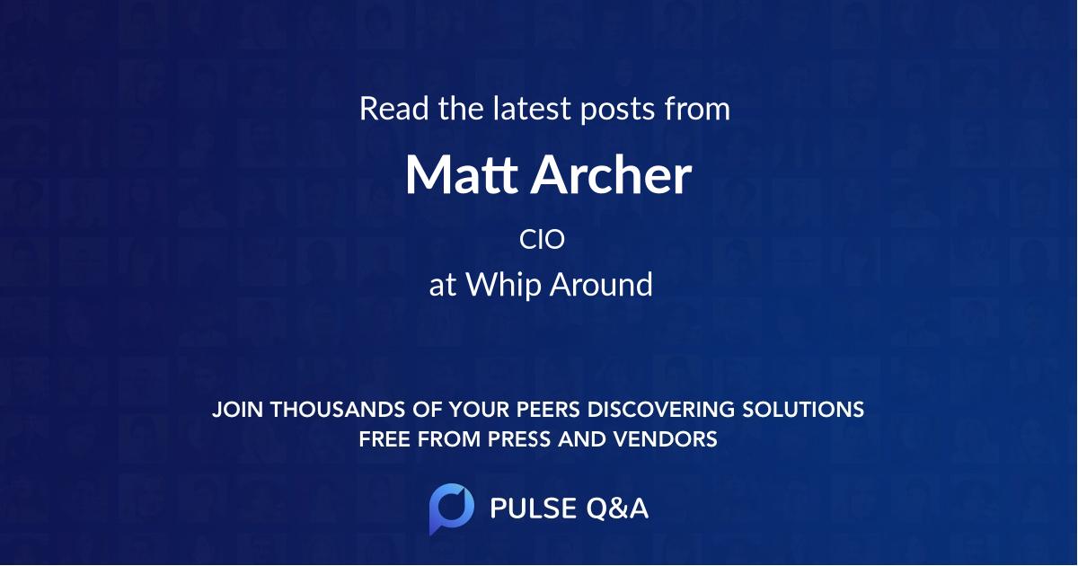 Matt Archer
