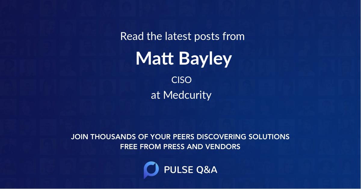 Matt Bayley