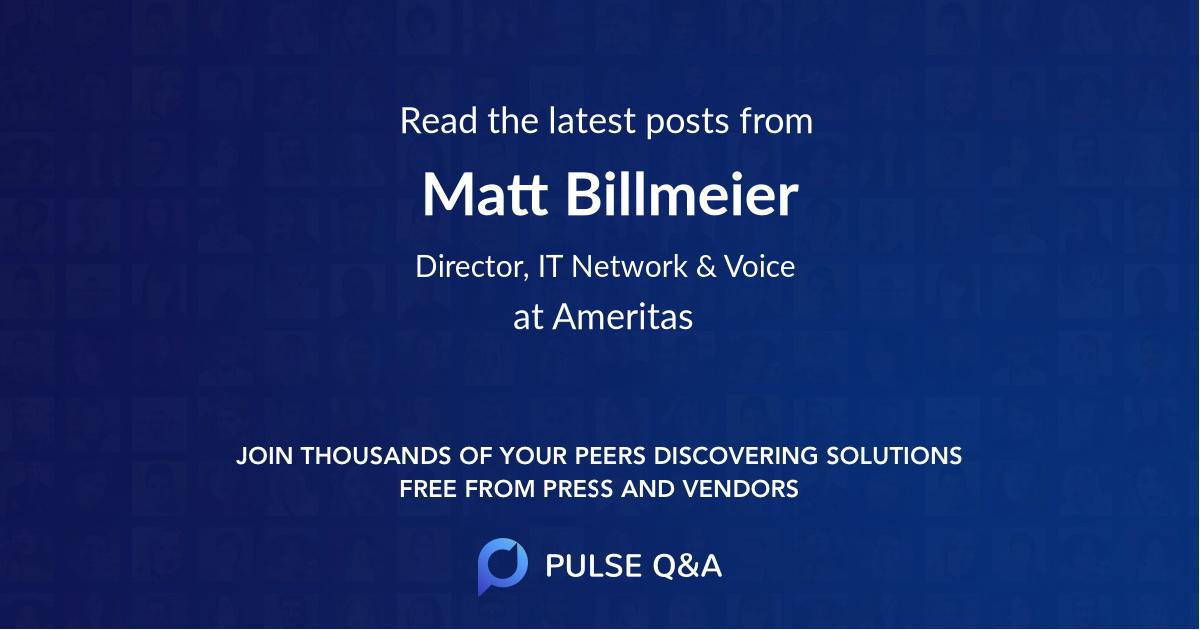 Matt Billmeier
