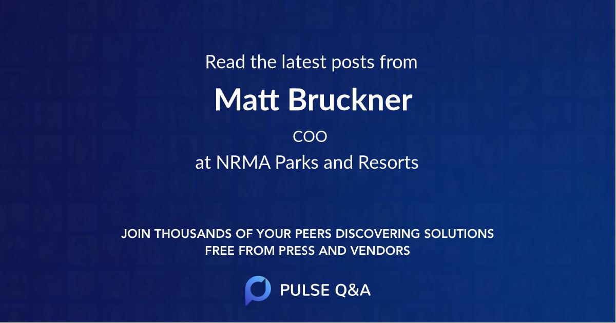 Matt Bruckner