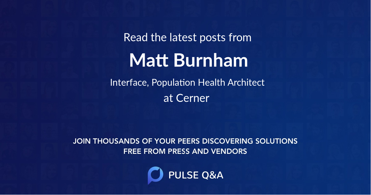 Matt Burnham