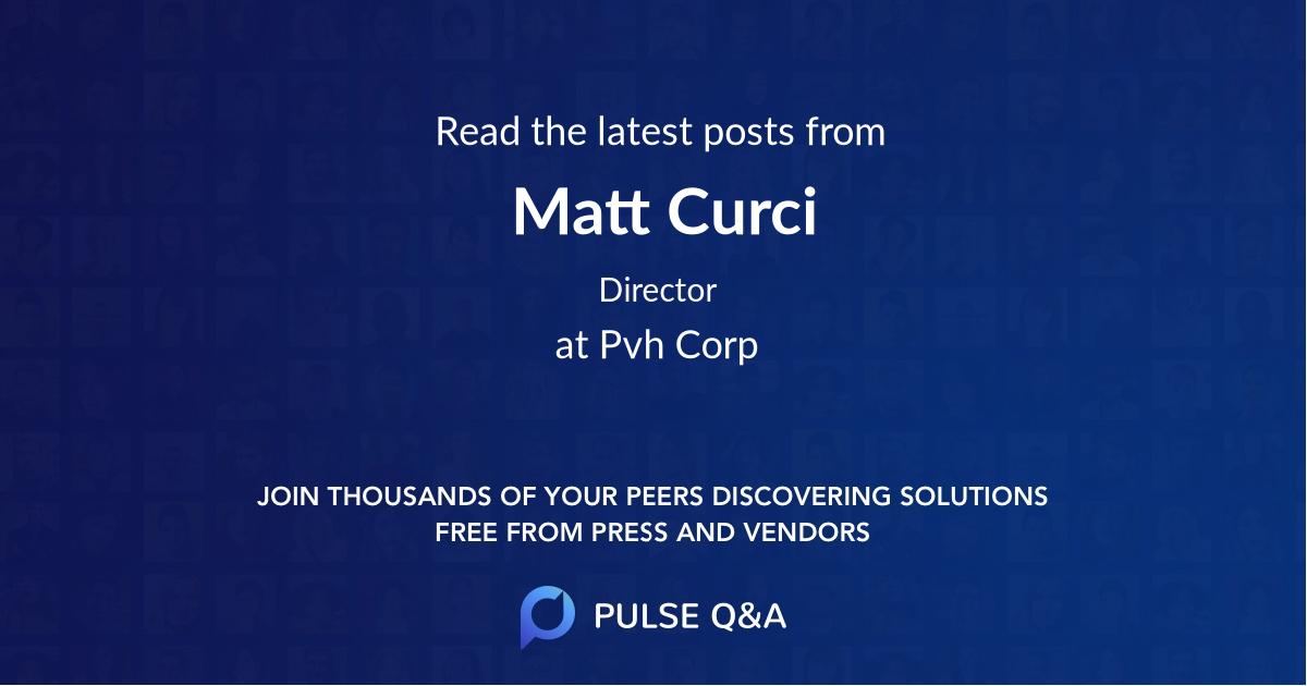 Matt Curci