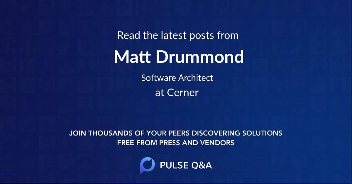 Matt Drummond