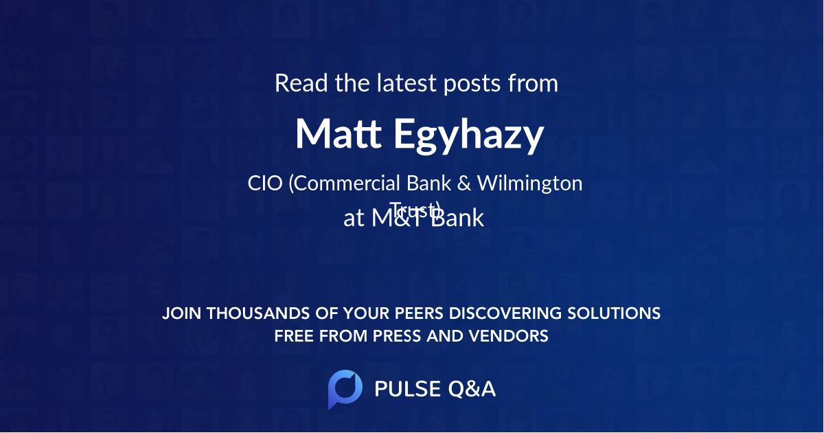 Matt Egyhazy