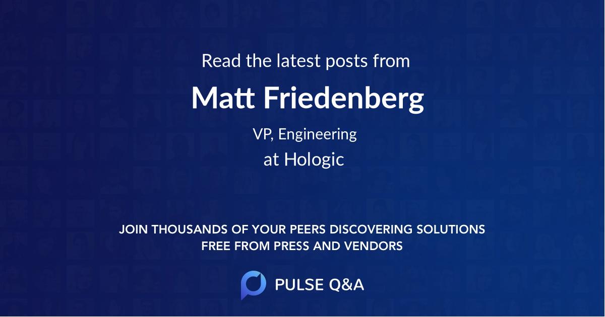 Matt Friedenberg