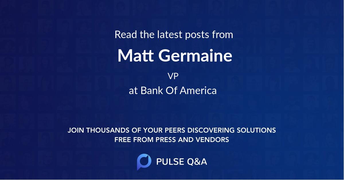 Matt Germaine