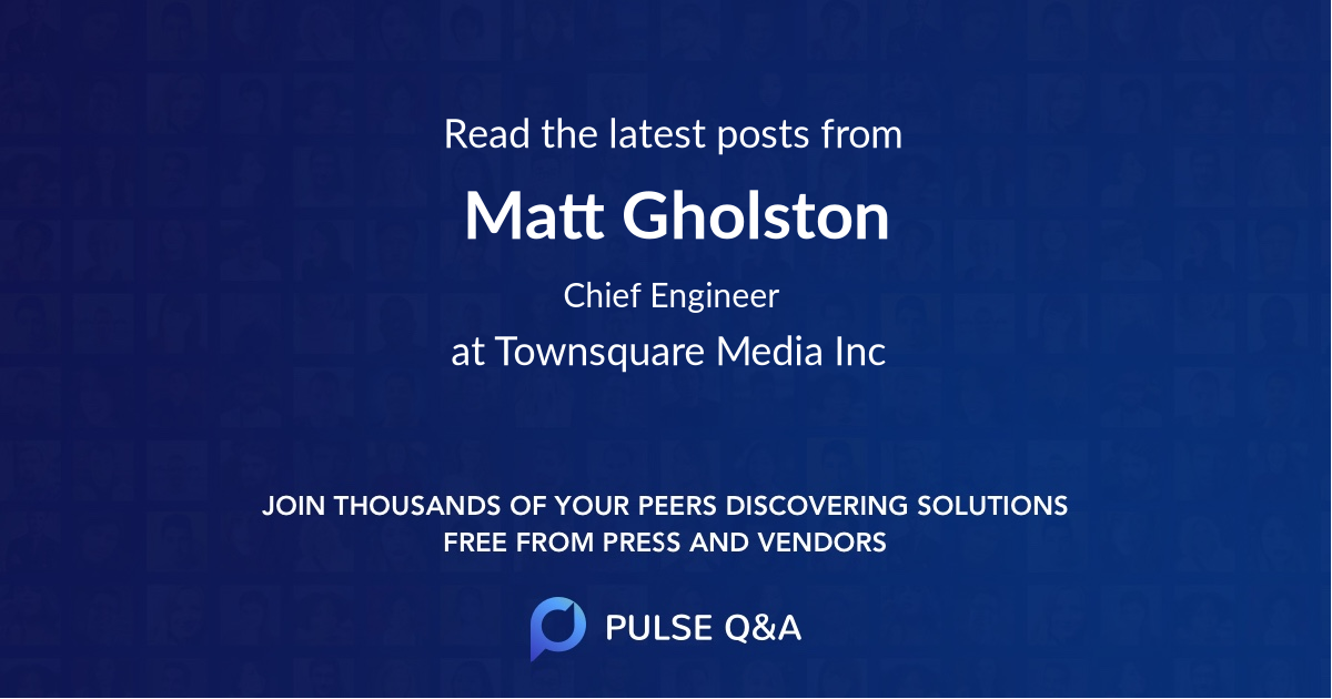 Matt Gholston