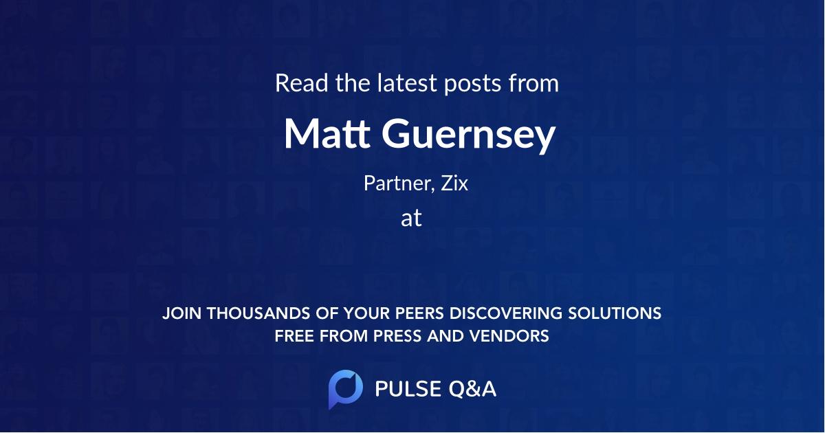 Matt Guernsey