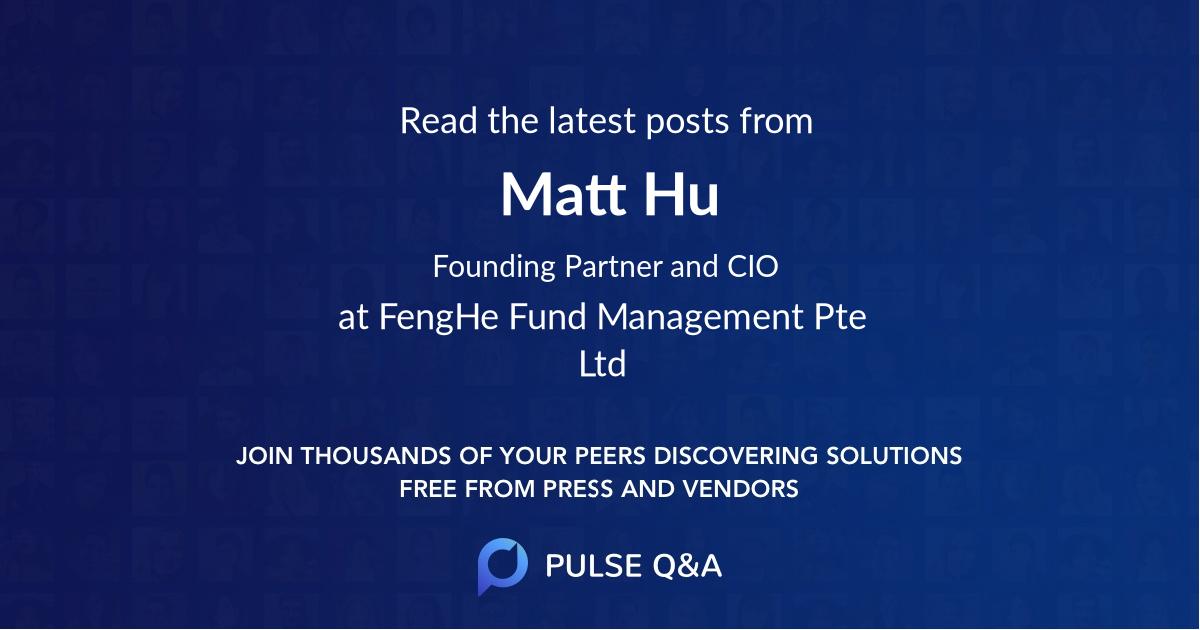 Matt Hu