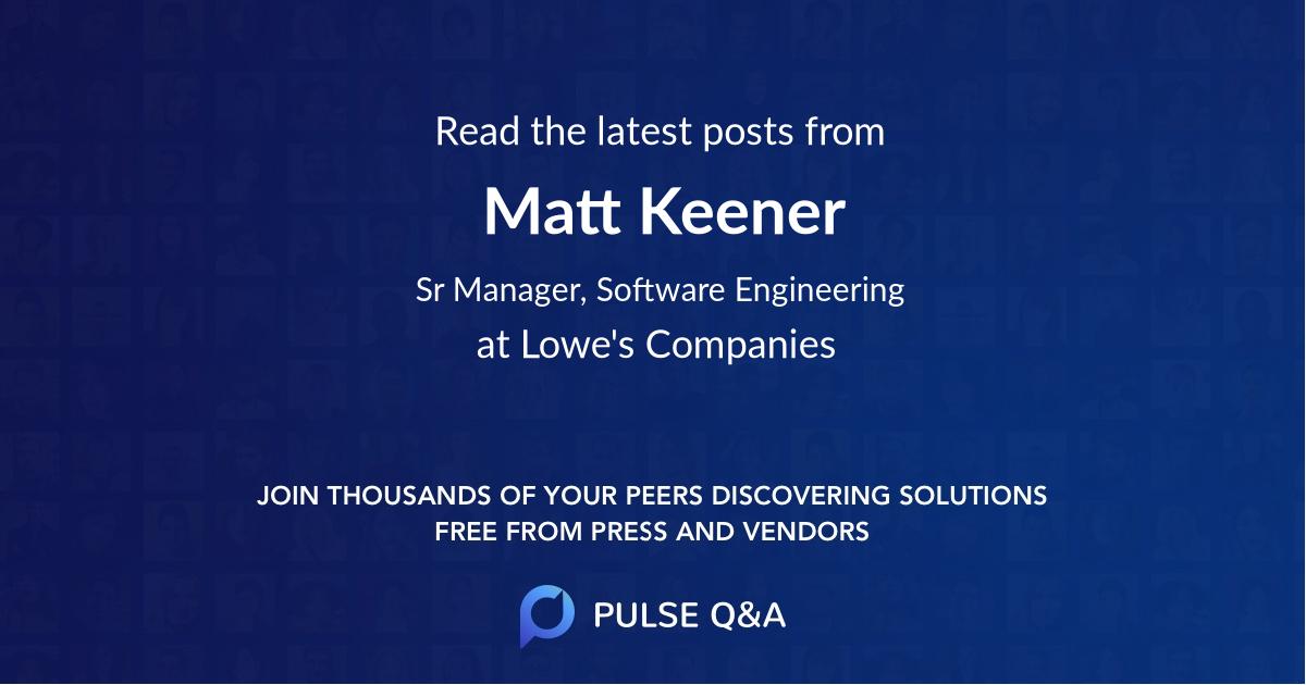 Matt Keener