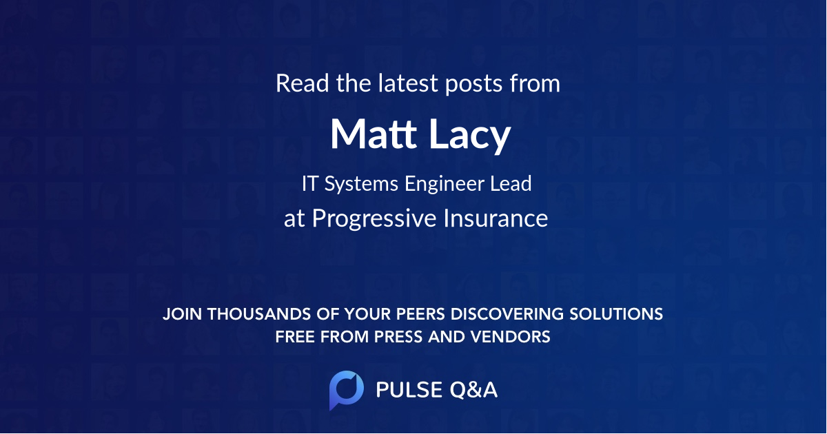 Matt Lacy