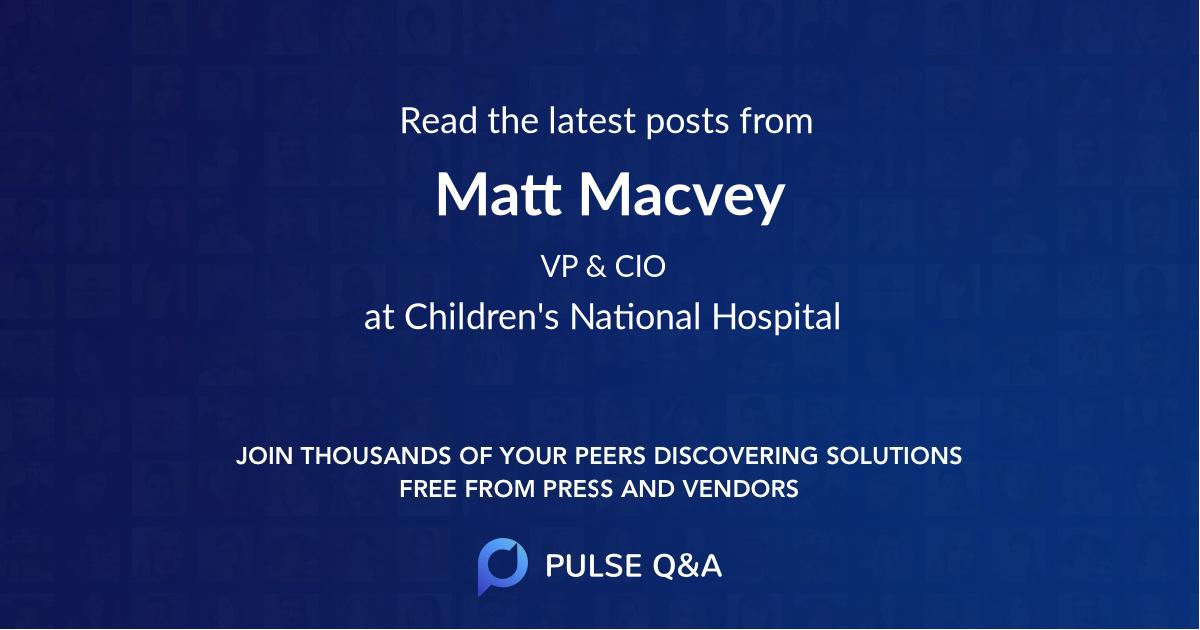 Matt Macvey