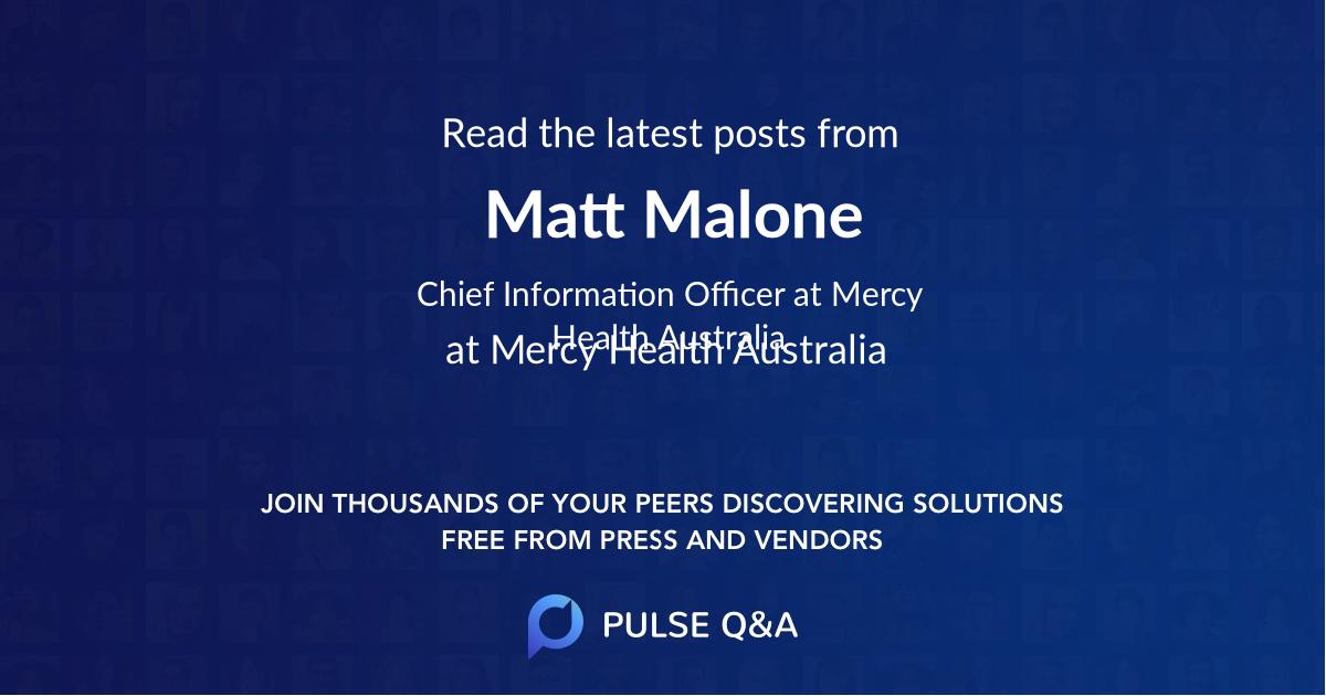 Matt Malone