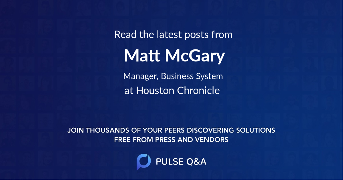 Matt McGary