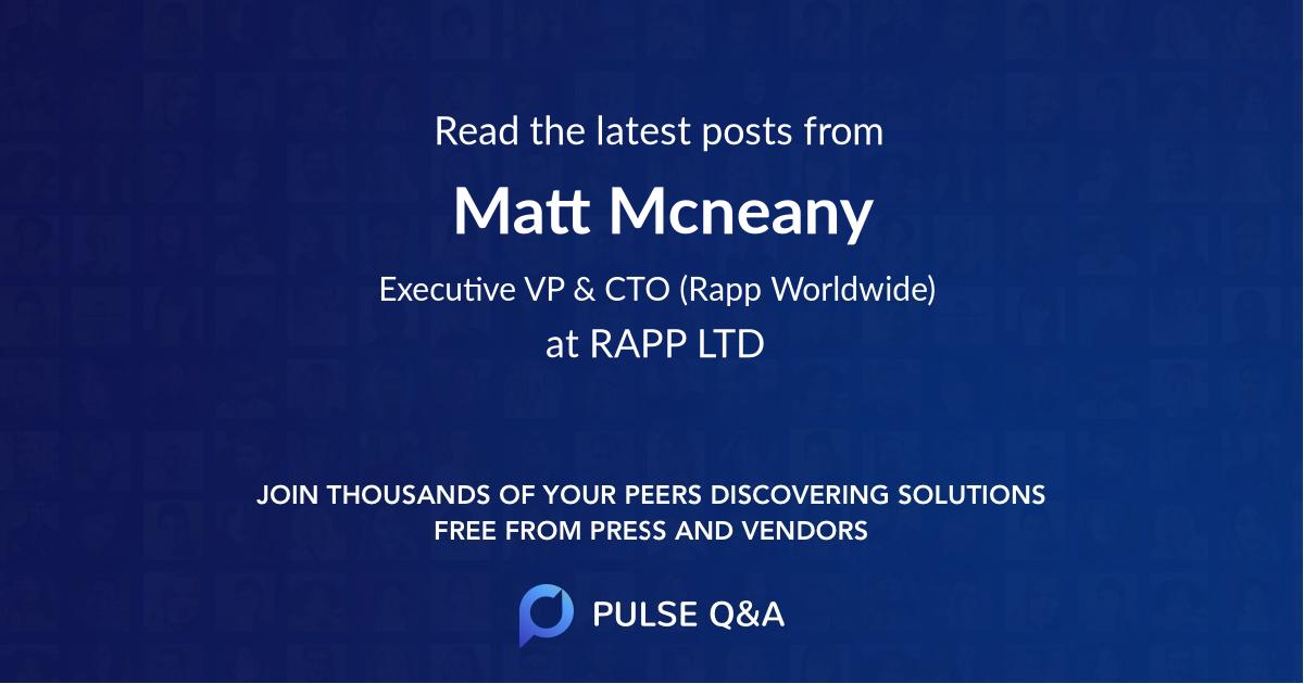 Matt Mcneany