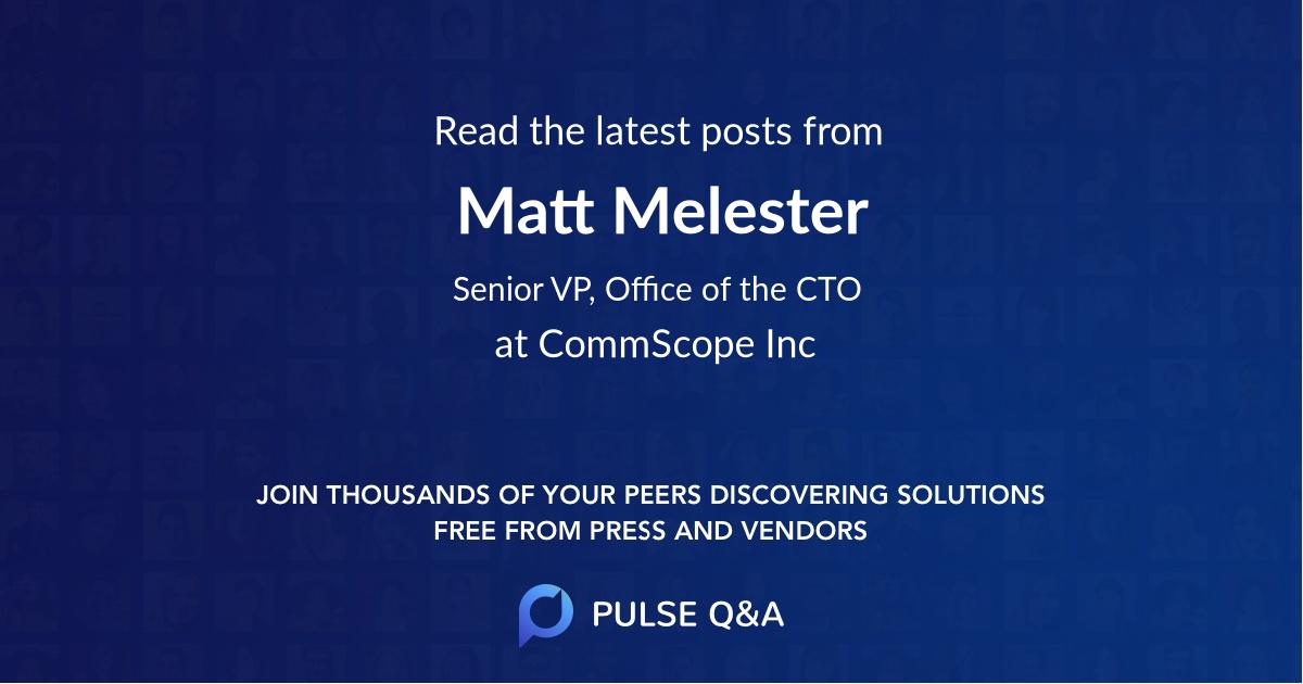 Matt Melester