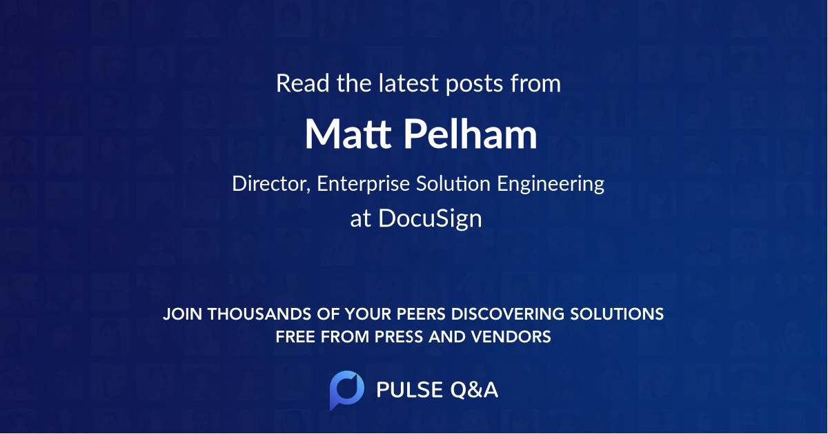 Matt Pelham