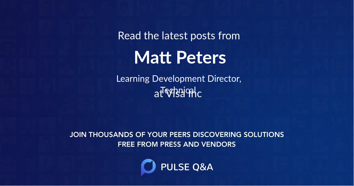 Matt Peters