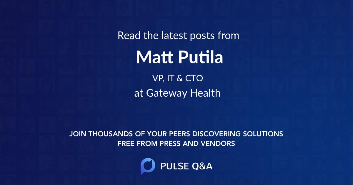 Matt Putila