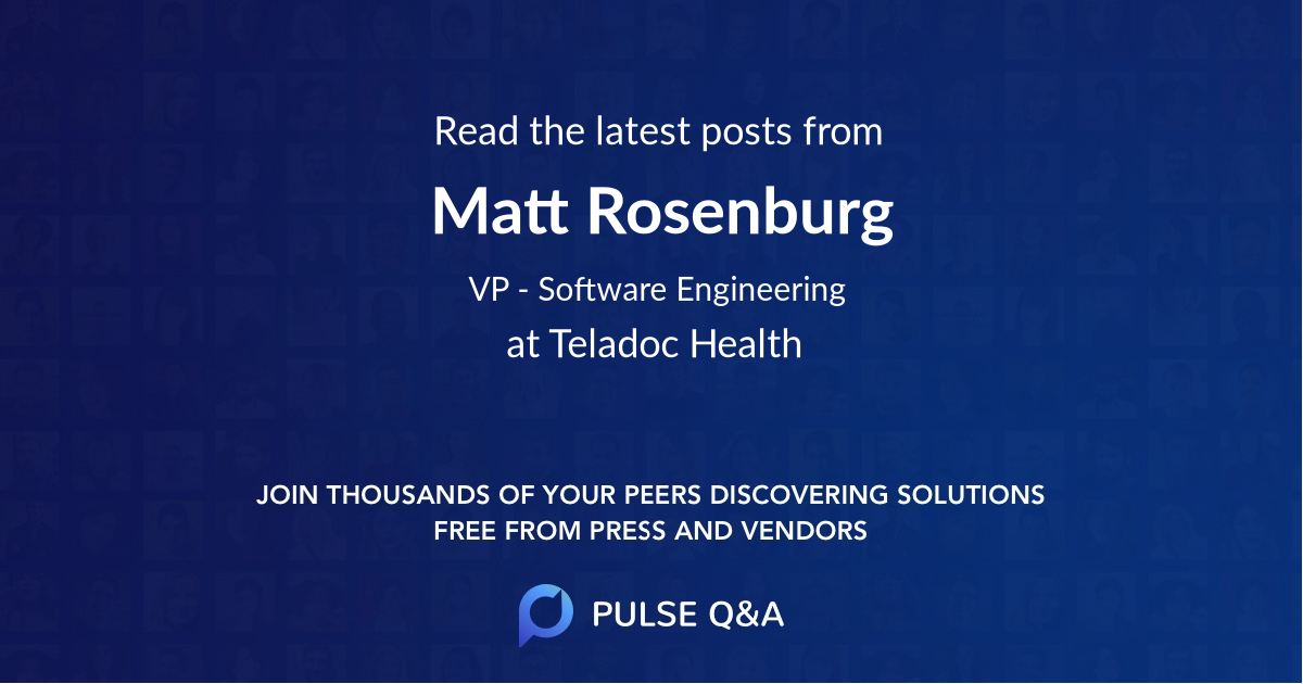 Matt Rosenburg