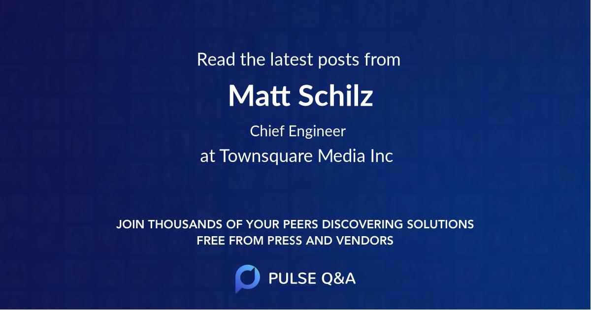 Matt Schilz