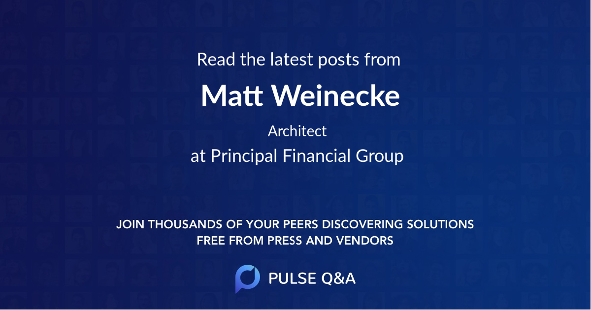 Matt Weinecke