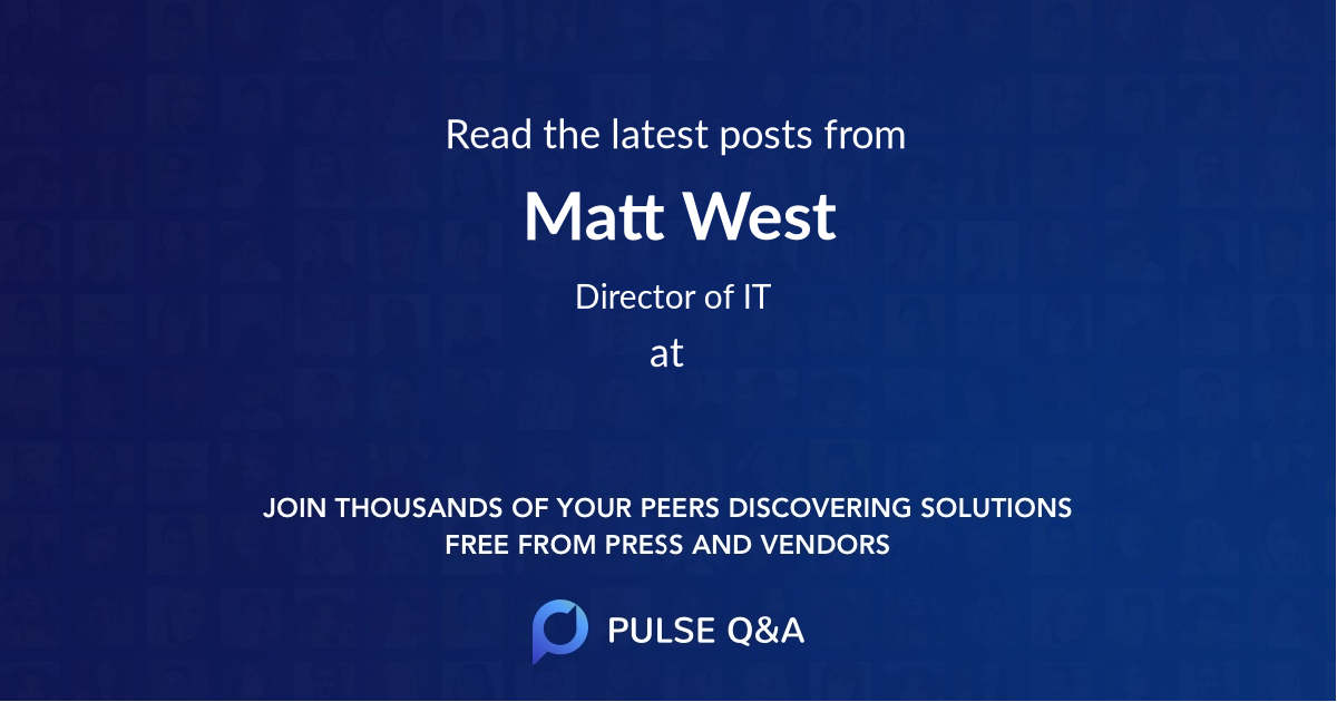 Matt West