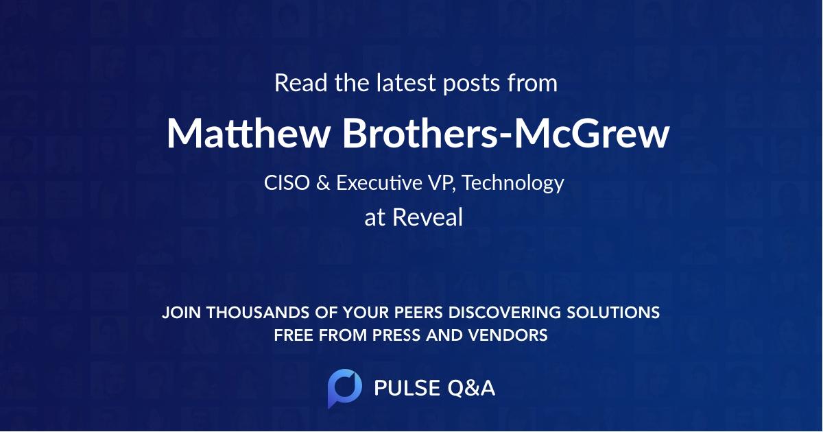 Matthew Brothers-McGrew