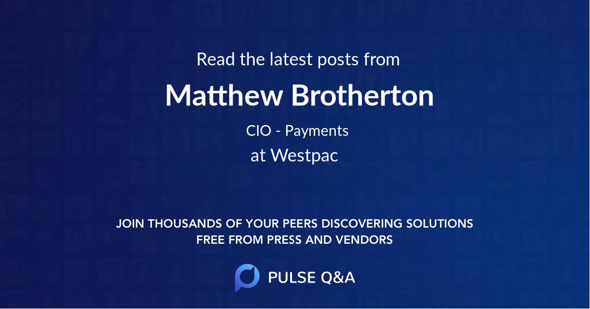 Matthew Brotherton