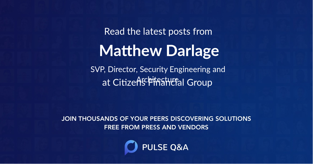 Matthew Darlage