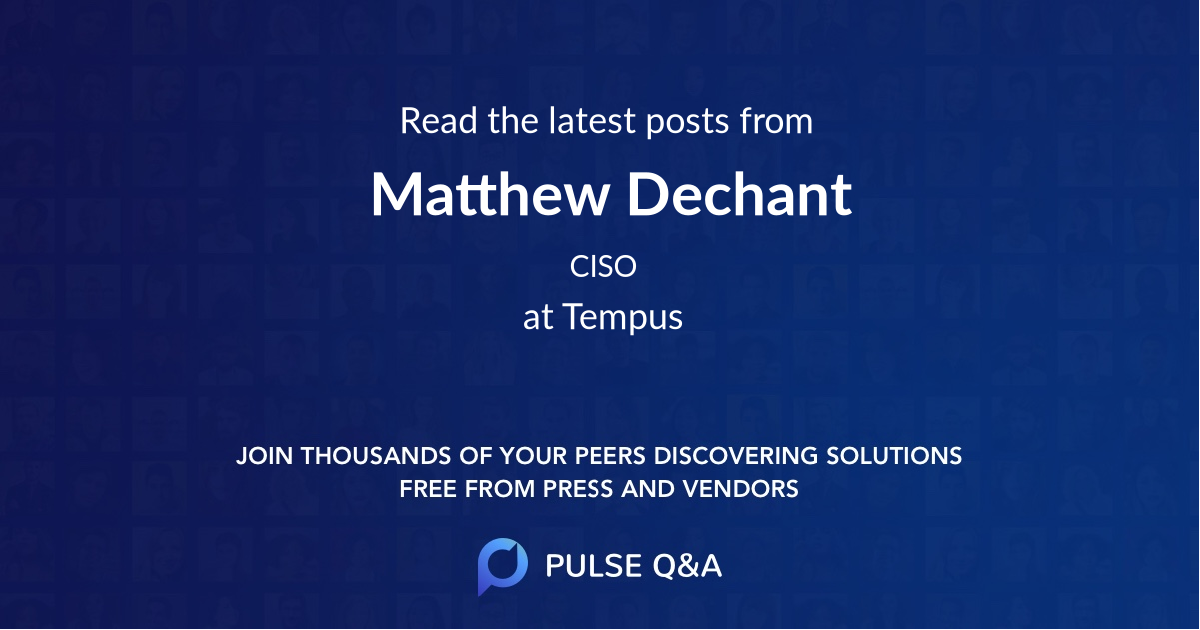 Matthew Dechant